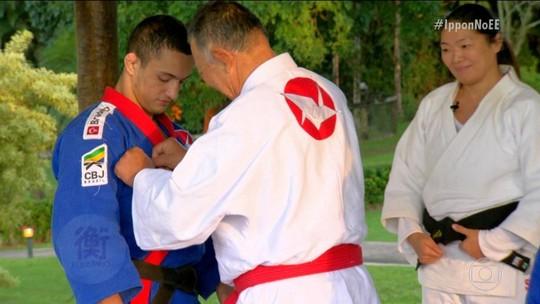 Episódio 4 tem desafio de sumô, treino de madrugada e choro de Larissa