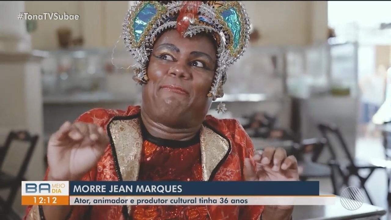 Artista baiano Jean Marques morre por complicações com doença cirrose hépática