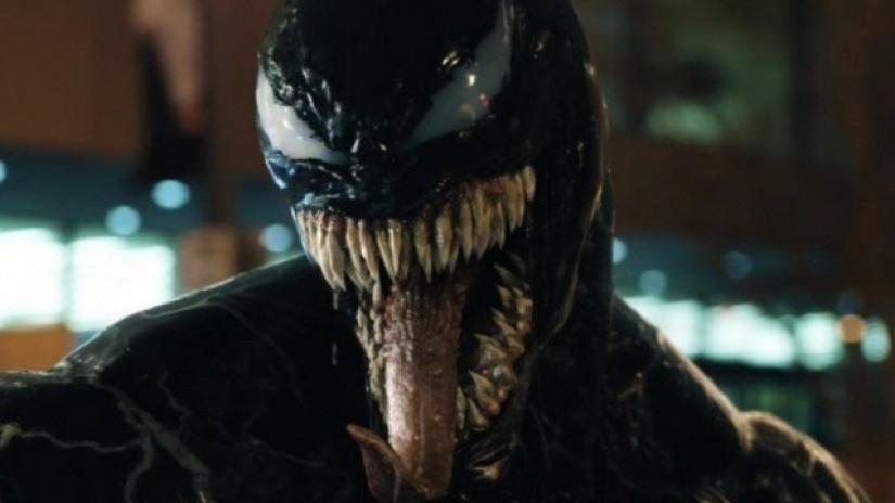 O ator Tom Hardy como o vilão Venom (Foto: Reprodução)