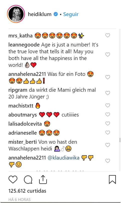 Heidi Klum (Foto: Instagram)