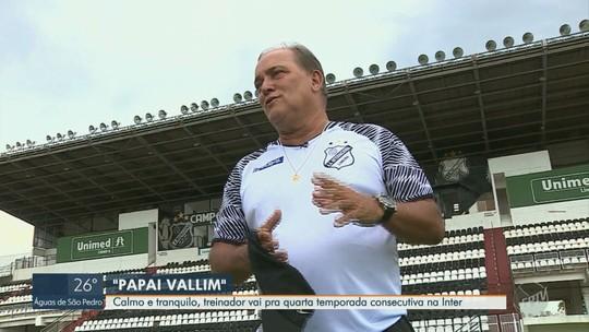 Vallim inicia quarta temporada e persegue recorde de técnico que mais dirigiu a Inter na história