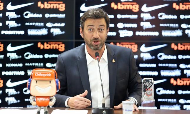 Duilio Monteiro Alves, presidente do Corinthians