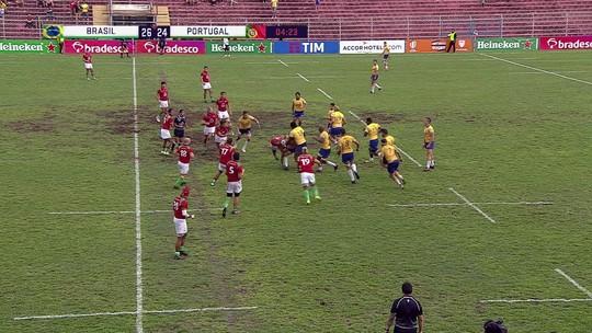 Em jogo muito disputado, Brasil vence Portugal no Rugby de XV