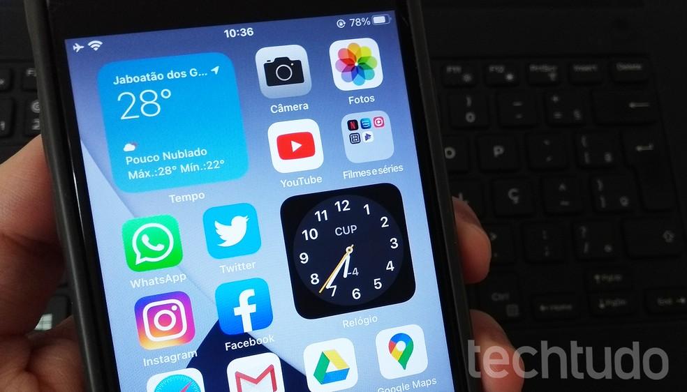 iOS 14 beta tem integração com o Shazam — Foto: Rodrigo Fernandes/TechTudo