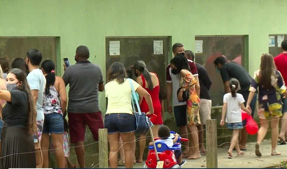 No primeiro domingo após reabertura, Zoobotânico de Teresina registra aglomerações — Foto: Reprodução/TV Clube
