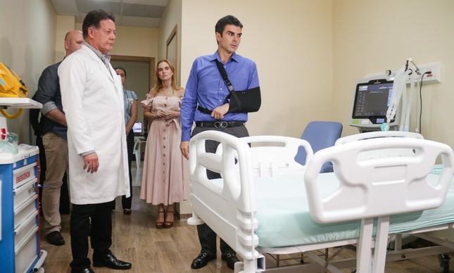 O governador Helder Barbalho (MDB) visita novas estruturas de UTI's que receberão pacientes em estado grave, infectados pelo novo coronavírus.