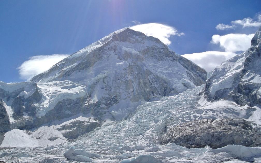 Geleiras do Himalaia foram formadas há 70 milhões de anos — Foto: Reuters/Phurba Tenjing Sherpa