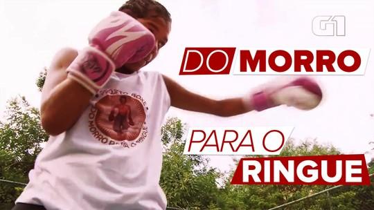 Projeto oferece aulas de boxe e transforma vida de crianças e jovens de comunidade no Rio