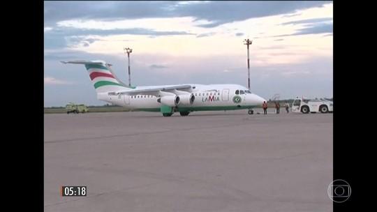Autoridades da Bolívia culpam piloto e LaMia pela tragédia com a Chape