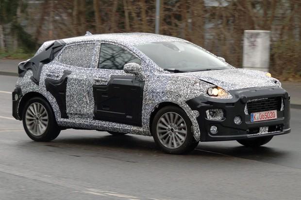 SUV do Fiesta deve ser lançado em 2020 na Europa (Foto: AutoMedia/Autoesporte)