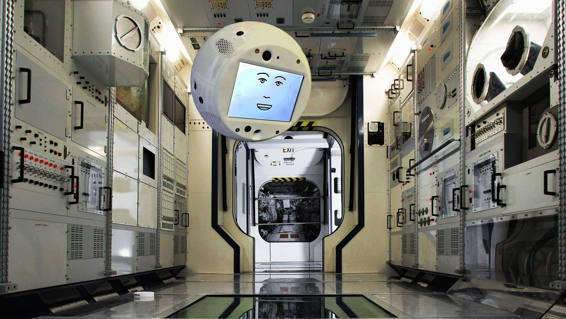 Cimon é o novo tripulante da ISS. (Foto: Airbus)