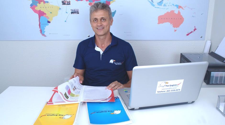 Dilson Kossoski, 52, fundador da Top English, rede de cursos de inglês (Foto: Divulgação)