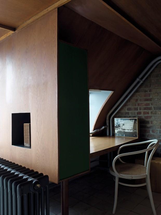 Por dentro do apartamento-estúdio de Le Corbusier, recém-reaberto ao público