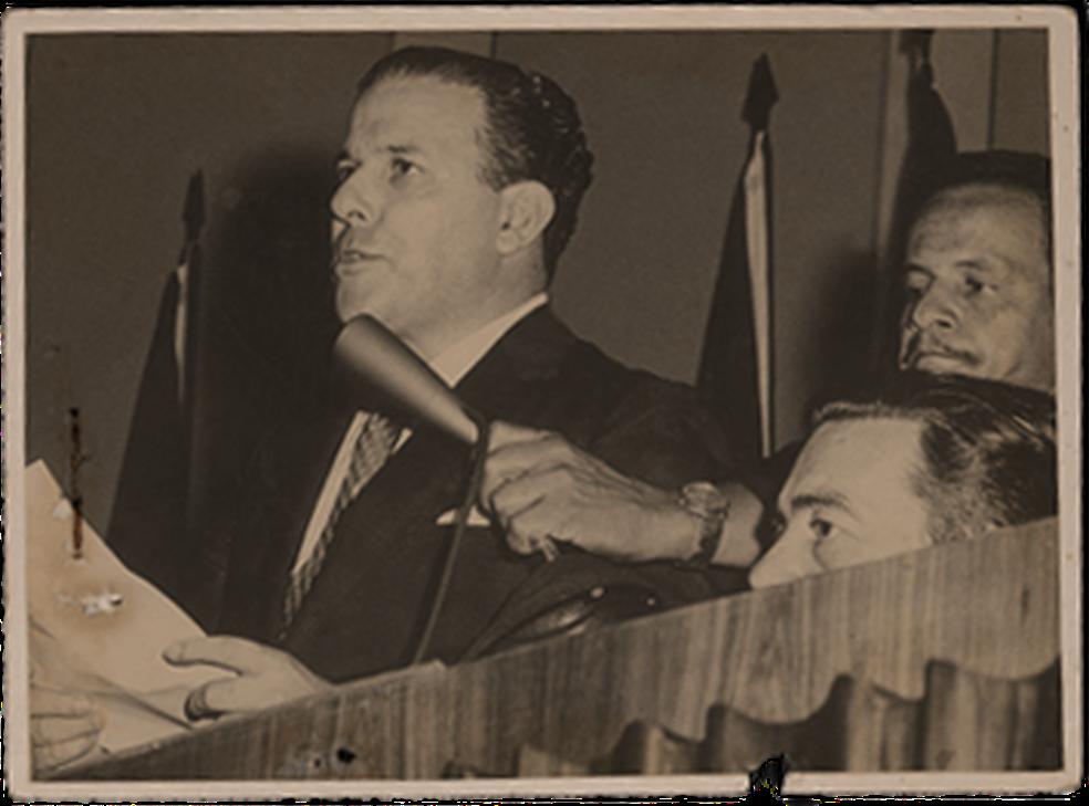 João Goulart, o Jango; como condição para a posse, militares conseguiram implantar o parlamentarismo no Brasil — Foto: Arquivo/Estadão Conteúdo