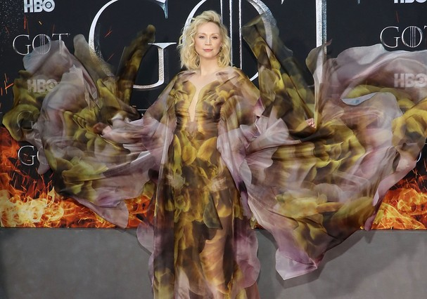 Gwendoline Christie de Iris van Herpen (Foto: Getty Images )