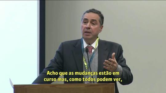 Barroso afirma nos Estados Unidos não ver risco de novo golpe militar no Brasil