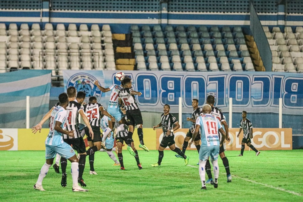 Paysandu x Botafogo-PB pela segunda rodada da Série C — Foto: Ascom/ Paysandu