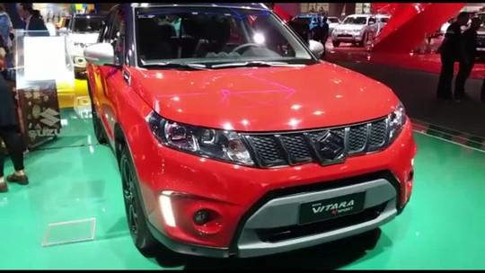 Suzuki se renova com Vitara, S-Cross e motor 1.4 turbo