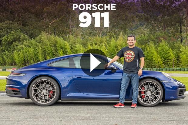 Home 1 - Vídeo Porsche 911 (Foto: Marcos Camargo/Autoesporte )