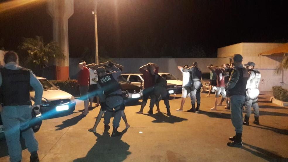 A ação foi realizada pela Polícia Militar — Foto: PM-MT/Assessoria
