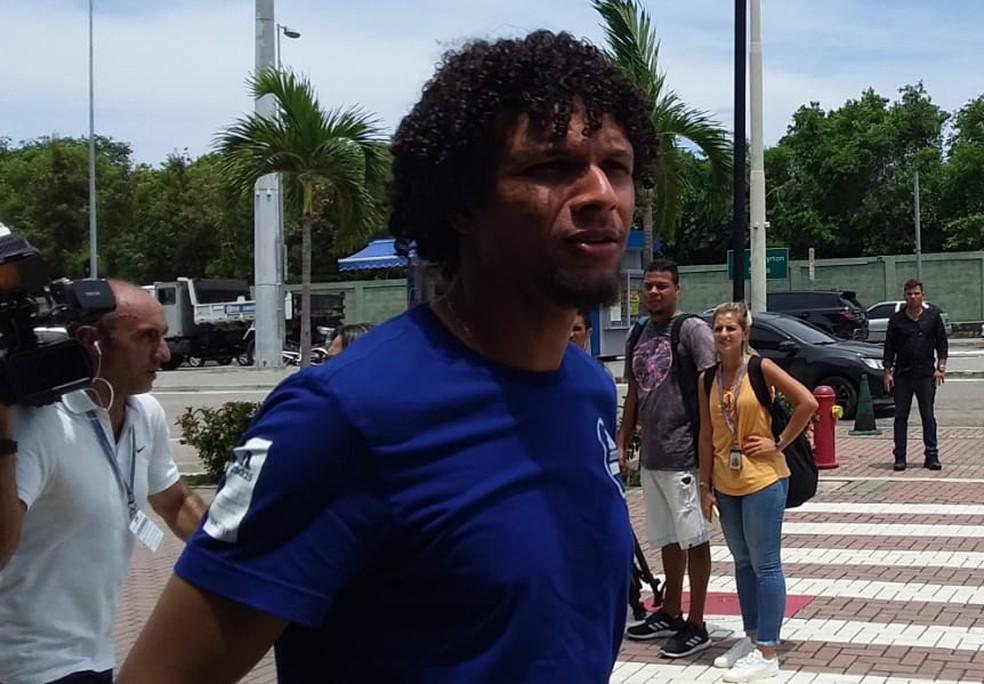 Willian Arão perdeu batalha judicial para o Botafogo — Foto: Guilherme Oliveira / GloboEsporte.com