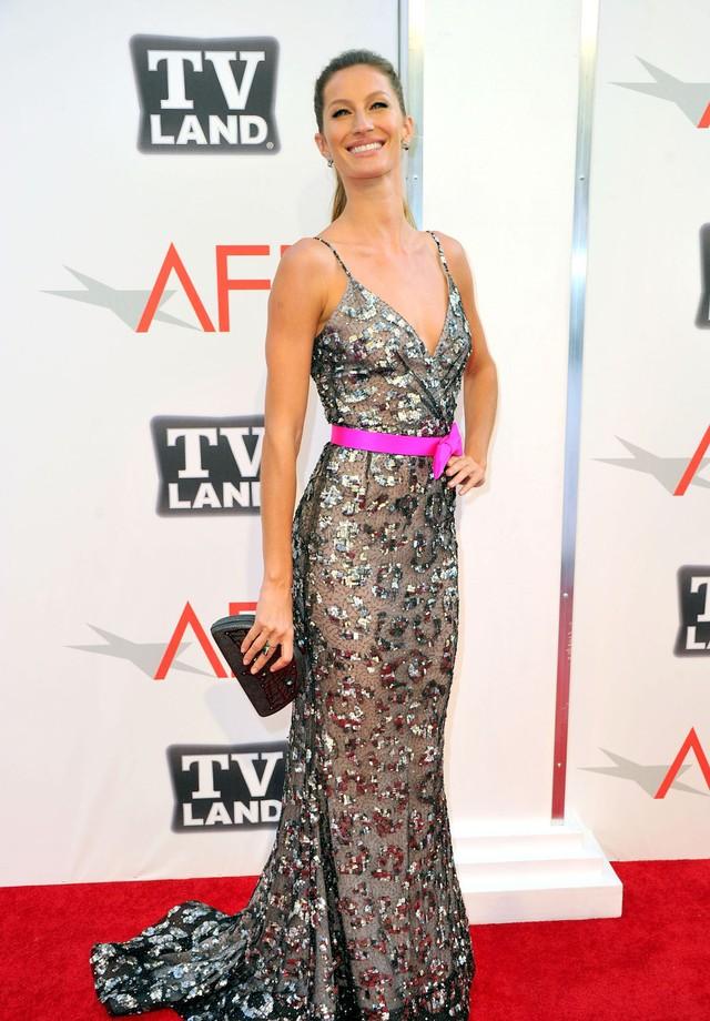 Gisele Bündchen no AFI Life Achievement Award de 2011 (Foto: Getty Images)