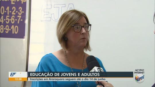 Educação de Jovens e Adultos abre inscrições para turmas do segundo semestre em Araraquara