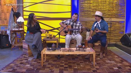 César Oliveira e Rogério Melo foram convidados do 'Galpão Crioulo'; reveja todas as atrações