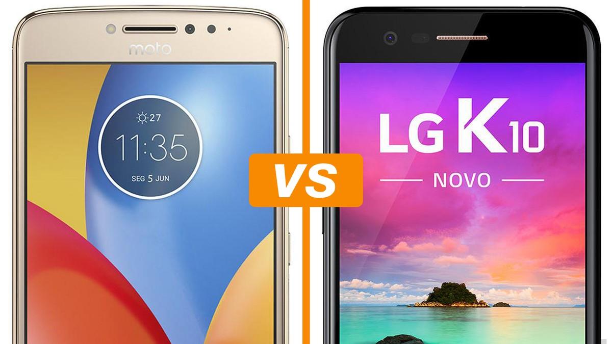 2cc022b38 Moto E4 Plus ou LG K10  compare os intermediários com Android 7 ...