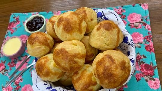 Pão de Queijo Francês Gougère