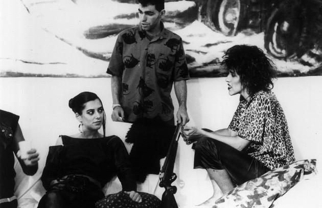 Em cena do filme 'Areias escaldantes' (1985), um musical dirigido por Francisco de Paula (Foto: Divulgação)