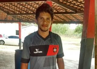 Samuel e Walter os novos jogadores do Moto (Foto: João Ricardo/Globoesporte.com)