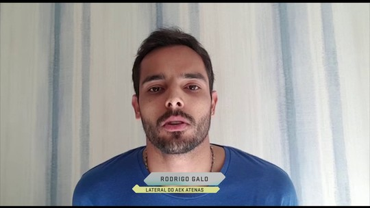 Arma, ameaça e 3 horas no vestiário: Rodrigo Galo relata violência na Grécia