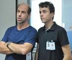 Roberto Bomtempo e Paulo Vilela em 'Conselho tutelar' | Munir Chatack/Record
