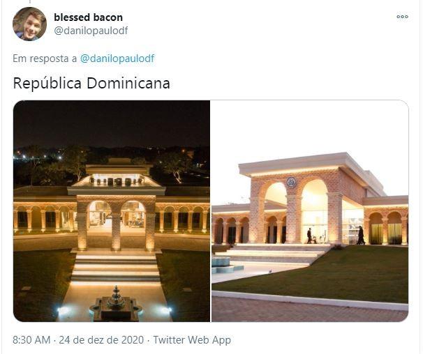 Embaixada da República Dominicana em Brasília (Foto: Reprodução)