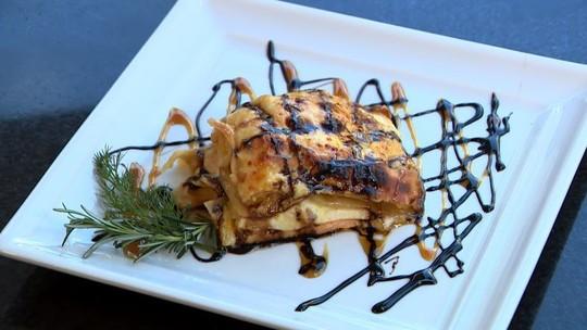 Lasanha de banana-da-terra é dica de prato saudável e saboroso