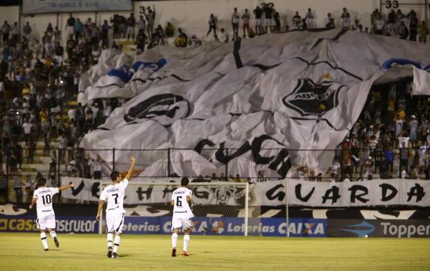 ABC x Guarani Estádio Frasqueirão Série C - gol Lúcio Flávio