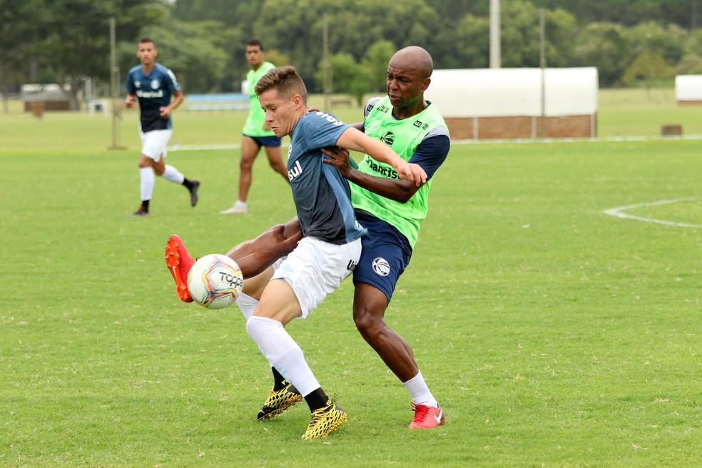 Pedro Lucas foi campeão mundial sub-17 em 2019 — Foto: Rodrigo Fatturi/Grêmio.