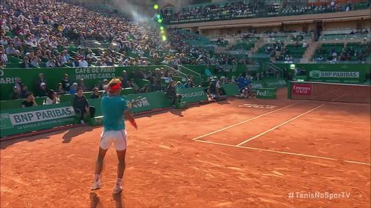 Com virada de respeito, Rafael Nadal vence Guido Pella e vai às semifinais de Monte Carlo