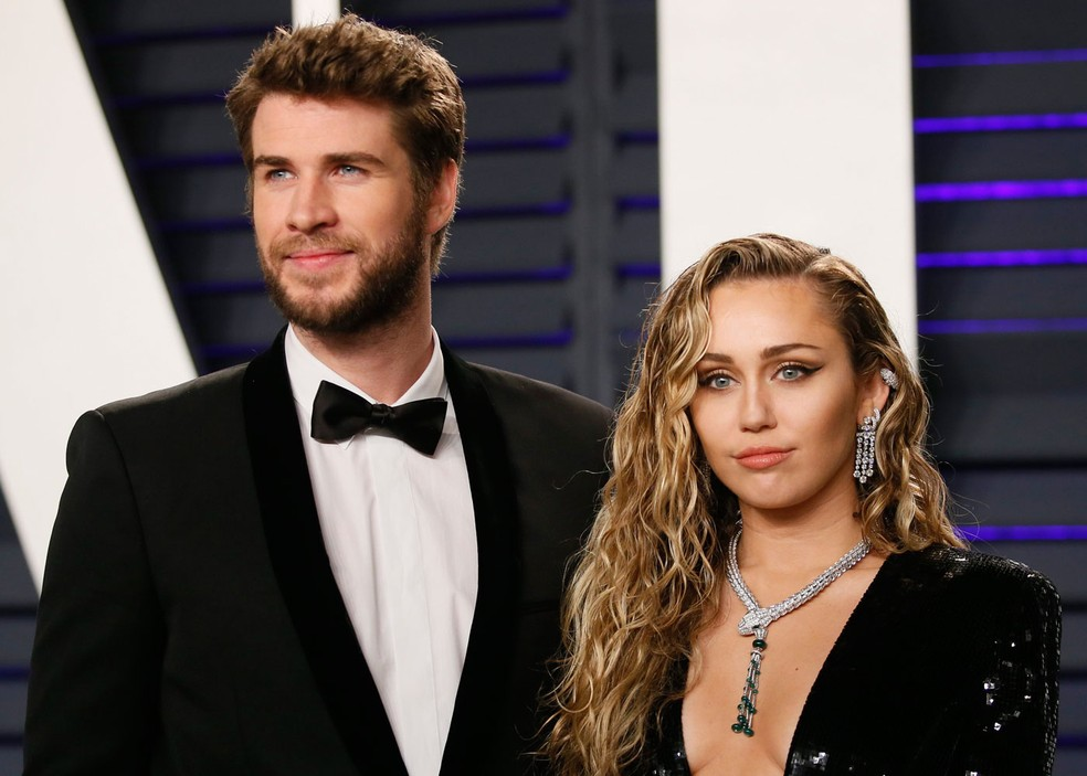 Miley Cyrus e Liam Hemsworth se separam, diz revista | Pop & Arte | G1
