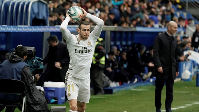 Bale foi titular no Real Madrid depois de muito tempo