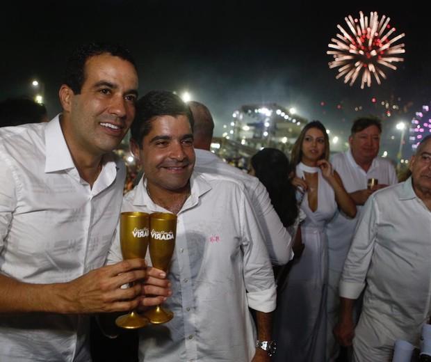 Bruno Reis e ACM Neto (Foto: Ed.Globo/Ricardo Cardoso)