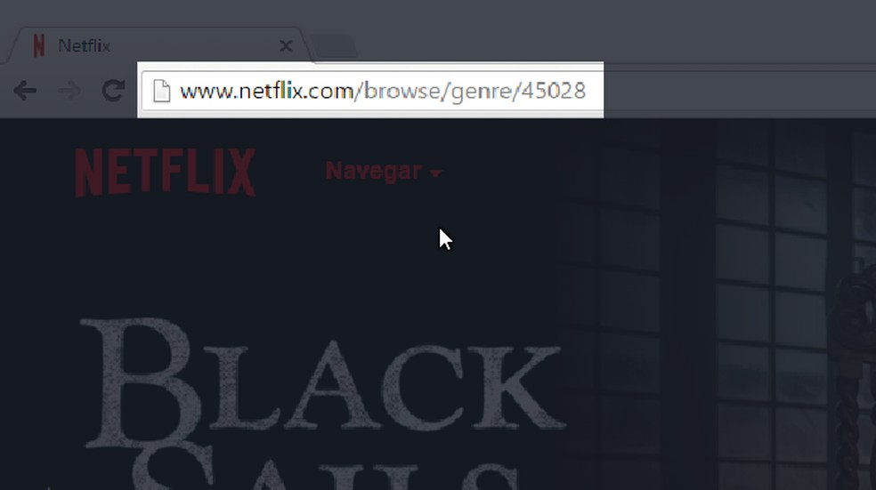Códigos permitem acessar categorias escondidas na Netflix  — Foto: Felipe Alencar/TechTudo