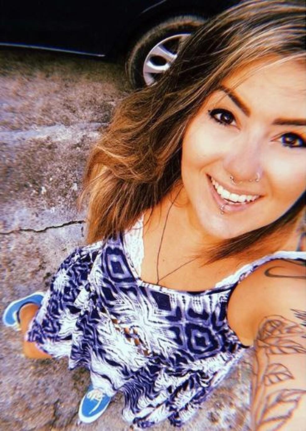 -  Nayara Costa foi morta enquanto saía do trabalho, no Bairro Parangaba, em Fortaleza  Foto: Arquivo Pessoal