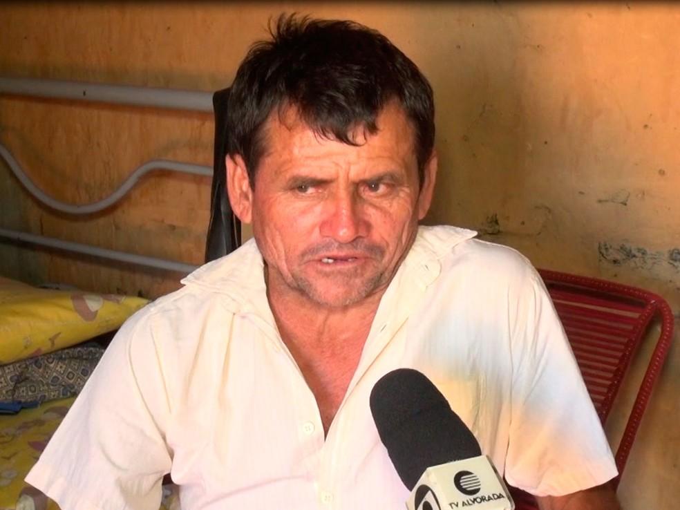 Agricultor de Aroeiras do Itaim diagnosticado com febre do Nilo foi o 1º do Brasil — Foto: Reprodução/TV Clube