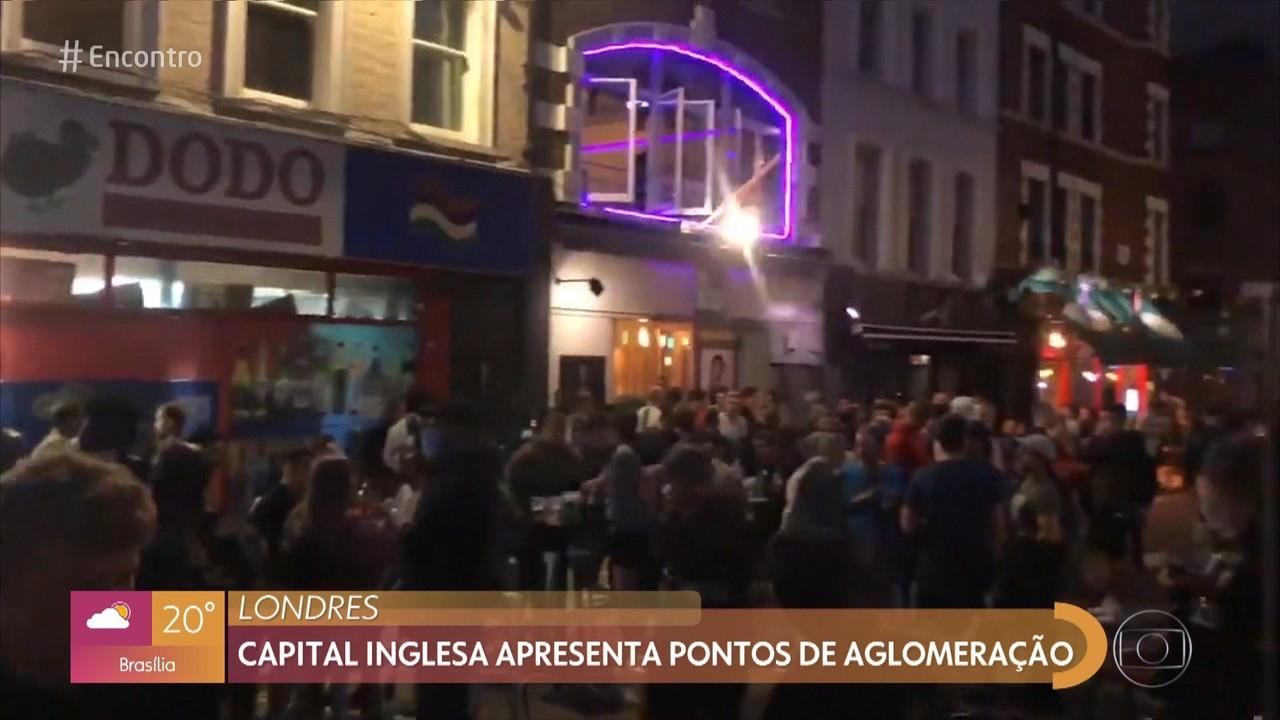 Cidades têm aglomeração após reabertura de bares e restaurantes