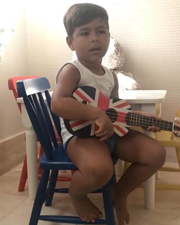 Henry, o filho de Simone Kaká Diniz (Foto: Reprodução Instagram)