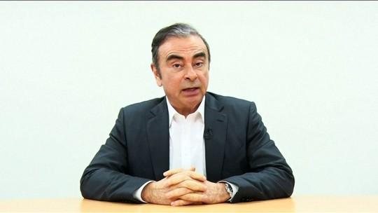 Ex-presidente da Nissan diz que é vítima de uma conspiração de executivos da empresa