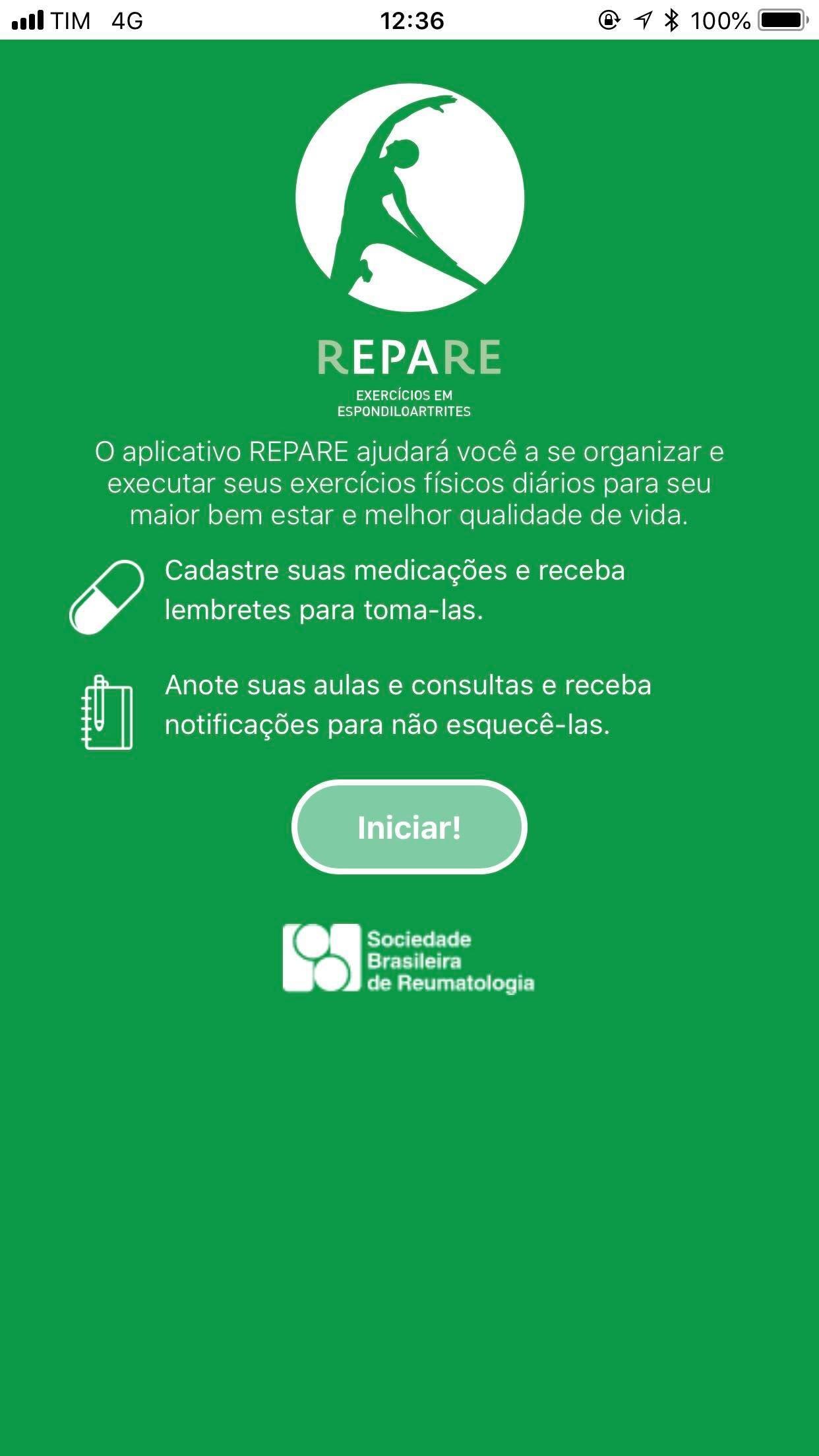 Aplicativo Repare (Foto: Reprodução)