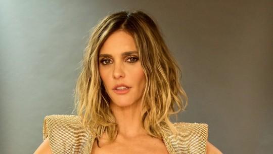 Fernanda Lima ousa em look com 'sutiã de melancia'; confira vídeo exclusivo